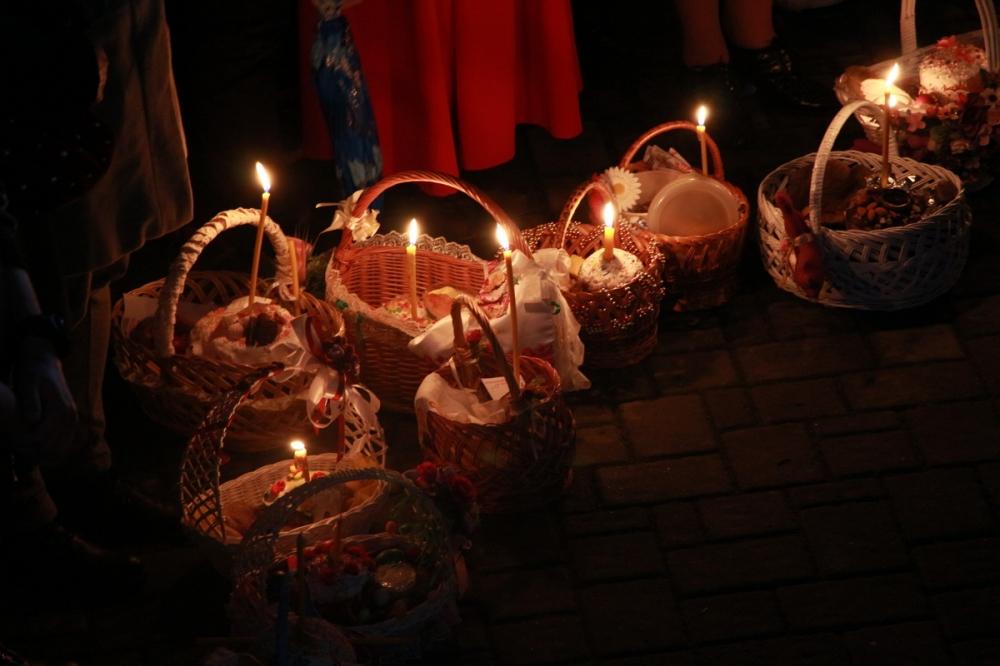 Як святкували Великдень у Свято-Троїцькому соборі Луцька