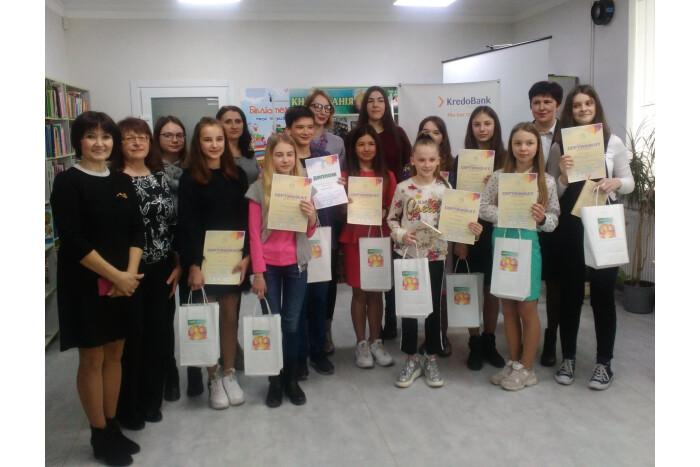 У Луцьку визначили «Супер-читача міста Луцька-2019». ФОТО