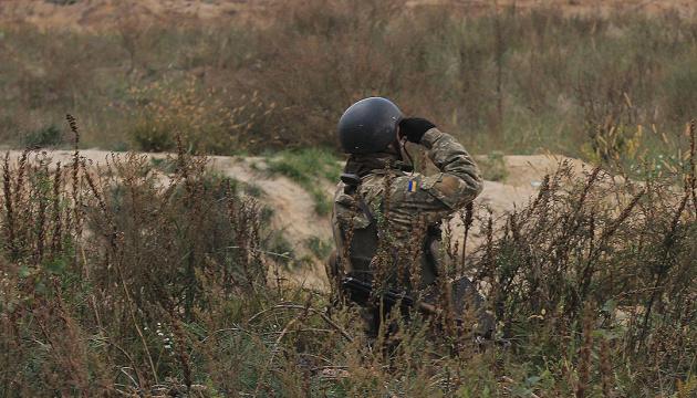 Українські військові спіймали диверсанта на Донбасі