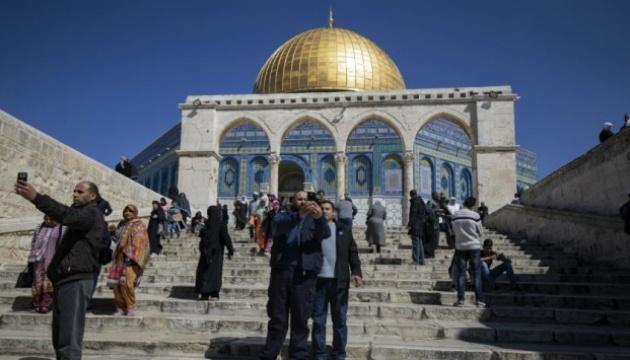На Храмовій горі у Єрусалимі горіла мечеть, коли сталася пожежа у Нотр-Дамі