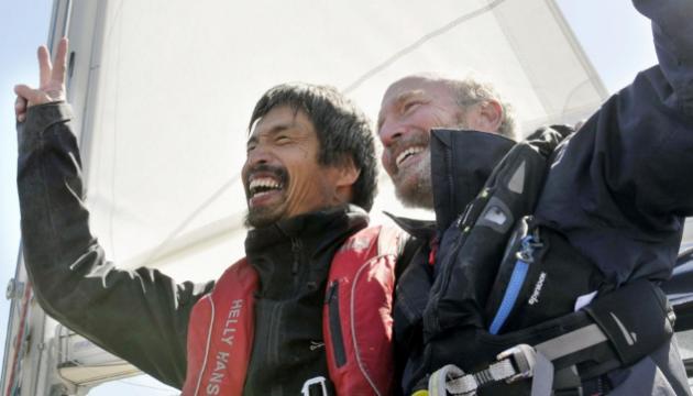 Сліпий японець самостійно на яхті перетнув Тихий океан