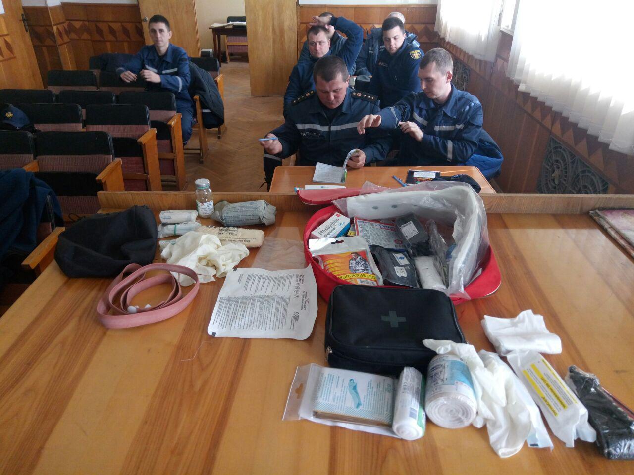 У Луцьку провели навчання для піротехніків. ФОТО