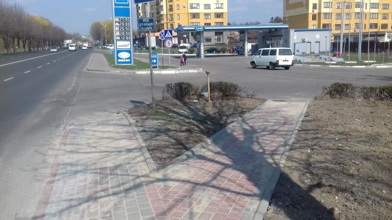 У Луцьку відремонтували тротуари на двох вулицях. ФОТО