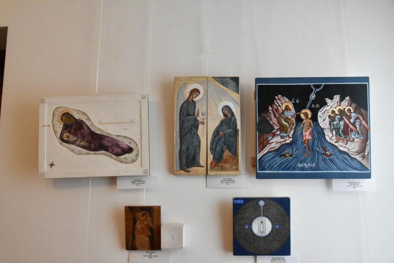 У Луцьку презентували підсумки Міжнародних пленерів іконопису у Замлинні. ФОТО