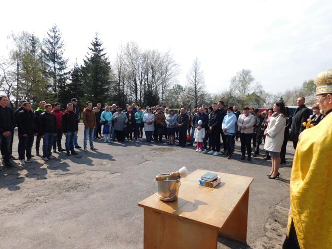 У Рожищенському районі призовників урочисто провели до лав Збройних Сил України. ФОТО