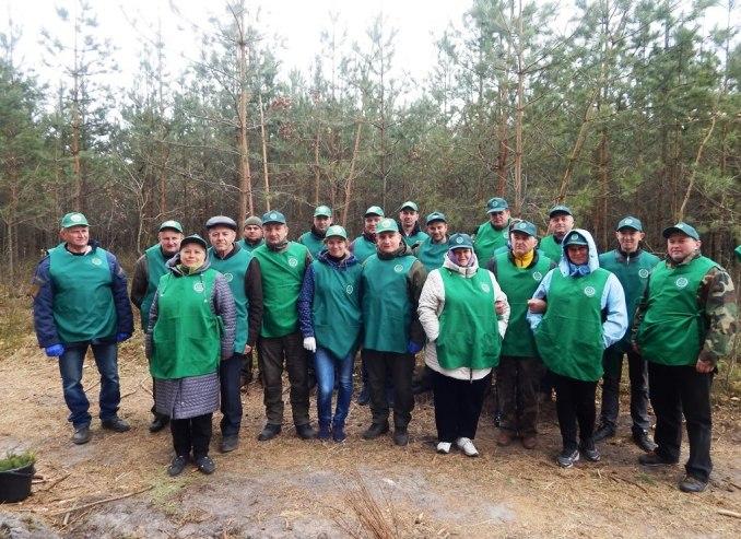 Очільники та представники громад Любомльщини створили ліс. ФОТО