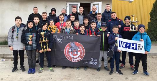 Команда «GARDA» на Чемпіонаті України з джиу джитсу здобула 29 блискавичних перемог. ФОТО