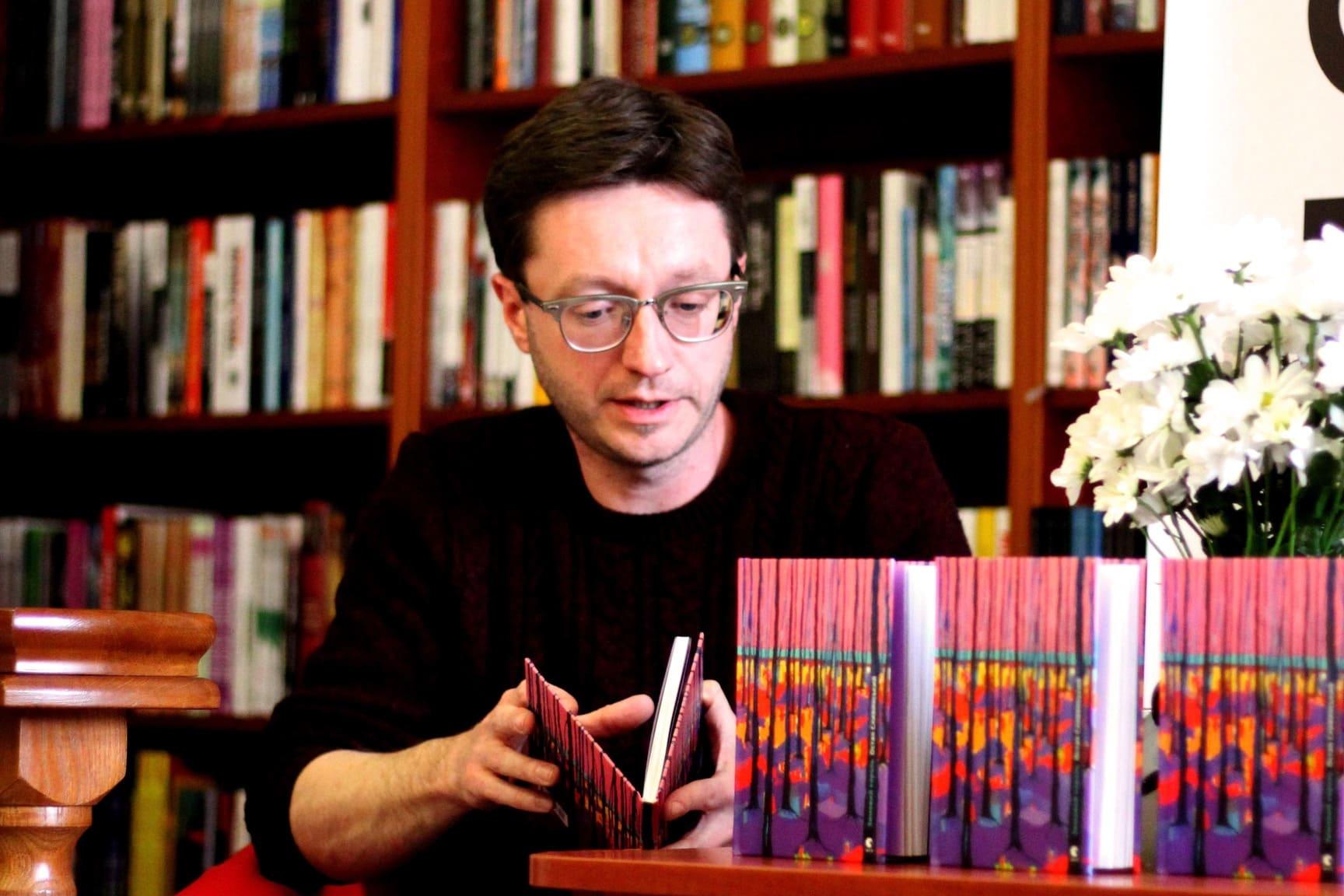 У Луцьку відбулися поетичні читання відомого літературознавця та перекладача. ФОТО