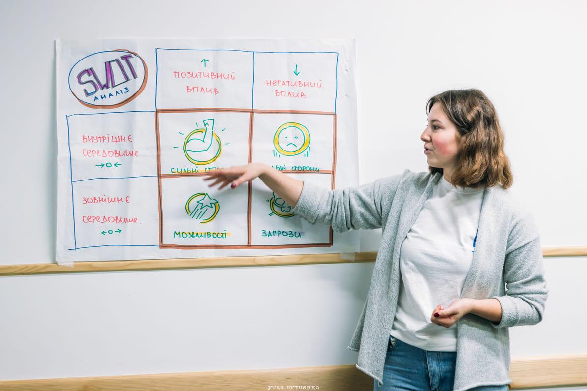У Луцьку молодь креативила ідеї, які змінять Україну. ФОТО