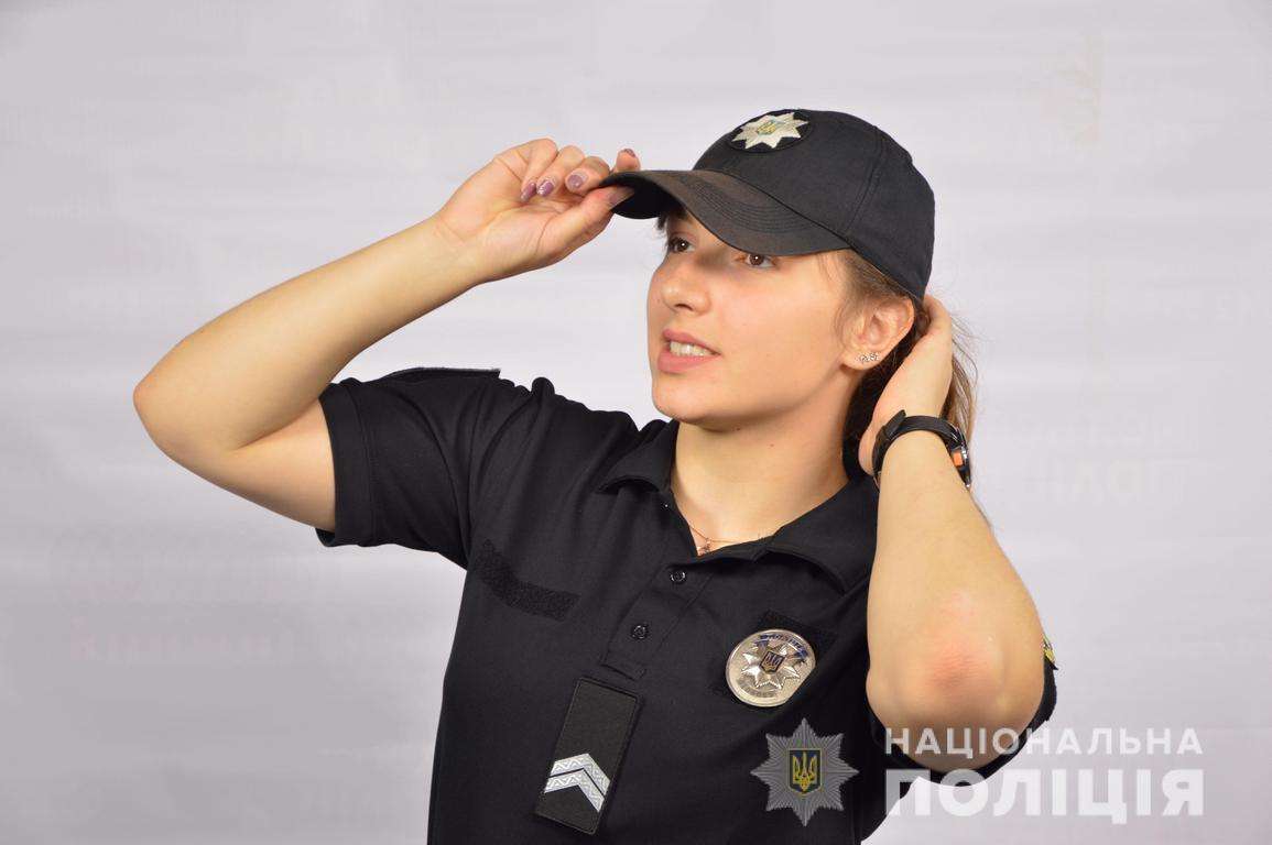 21-річна лучанка, капрал поліції, розповіла, як з дитинства мріяла стати поліцейською