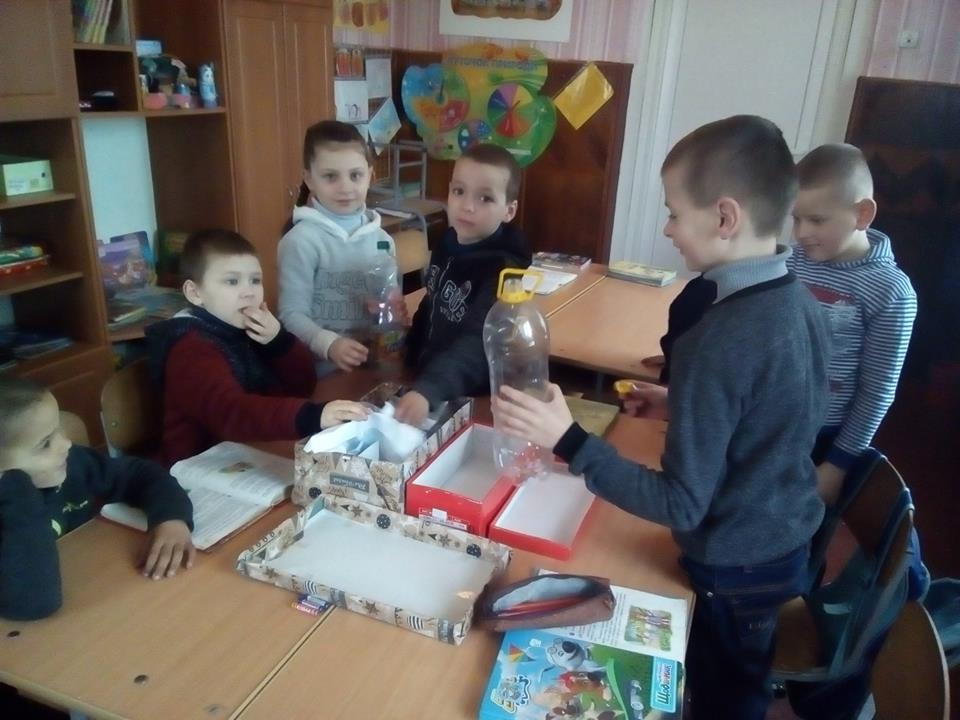 У Мстишині дітей навчали сортувати сміття. ФОТО