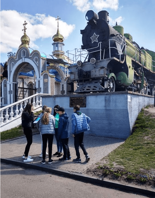 Львівська магістраль провела для школярів Волині профорієнтаційний квест