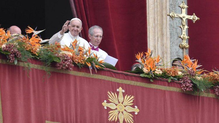 Папа Франциск бажає миру Україні та розради стражденним