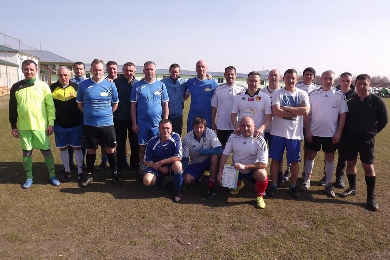 У Ковелі відбувся турнірз футболу середкомандветеранів