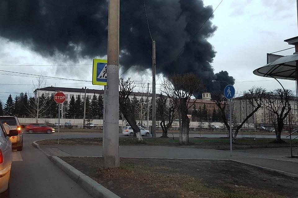 У Росії горить завод, де виробляють балістичні ракети. ВІДЕО
