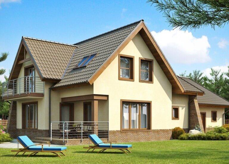 Як облицювати приватний будинок різними матеріалами