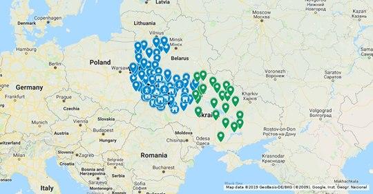 Місця історичної Волині на онлайн-мапі