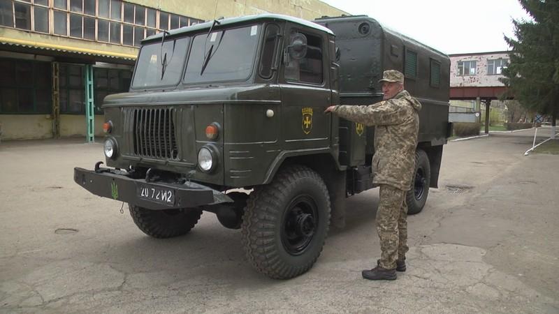 На Волині відремонтували автомобіль для 14-ї окремої механізованої бригади. ФОТО