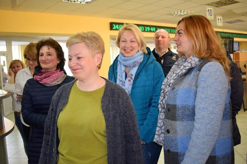 Представники Радивилівської ОТГ завітали до ЦНАПу міста Луцька