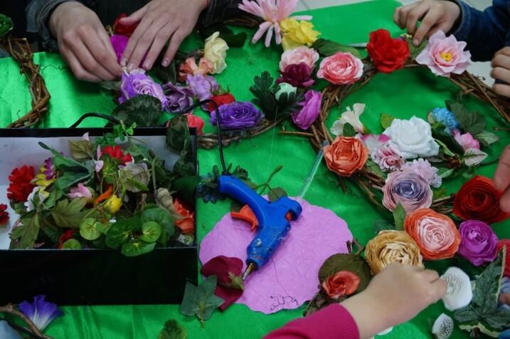 У Луцьку триває реалізація творчого проекту «Великодня майстерня». ФОТО