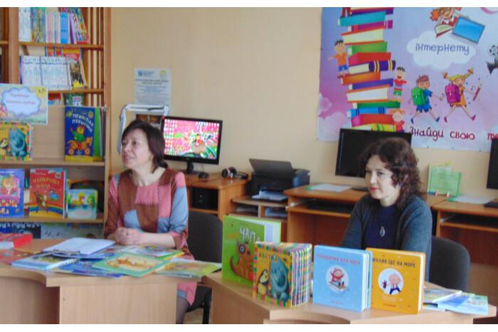 У луцькій бібліотеці відбулася зустріч із відомою дитячою письменницею