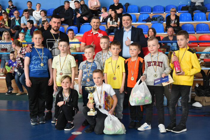 У Луцьку нагородили кращих спортсменів Дитячої футзальної ліги. ФОТО