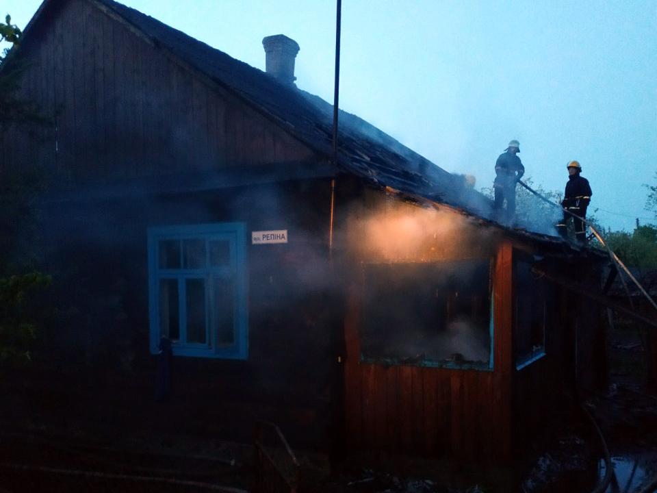На Волині у пожежі загинуло подружжя пенсіонерів
