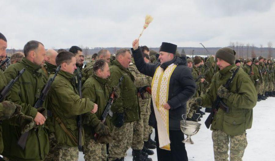 На Волині військовим священикам нададуть спеціальний статус