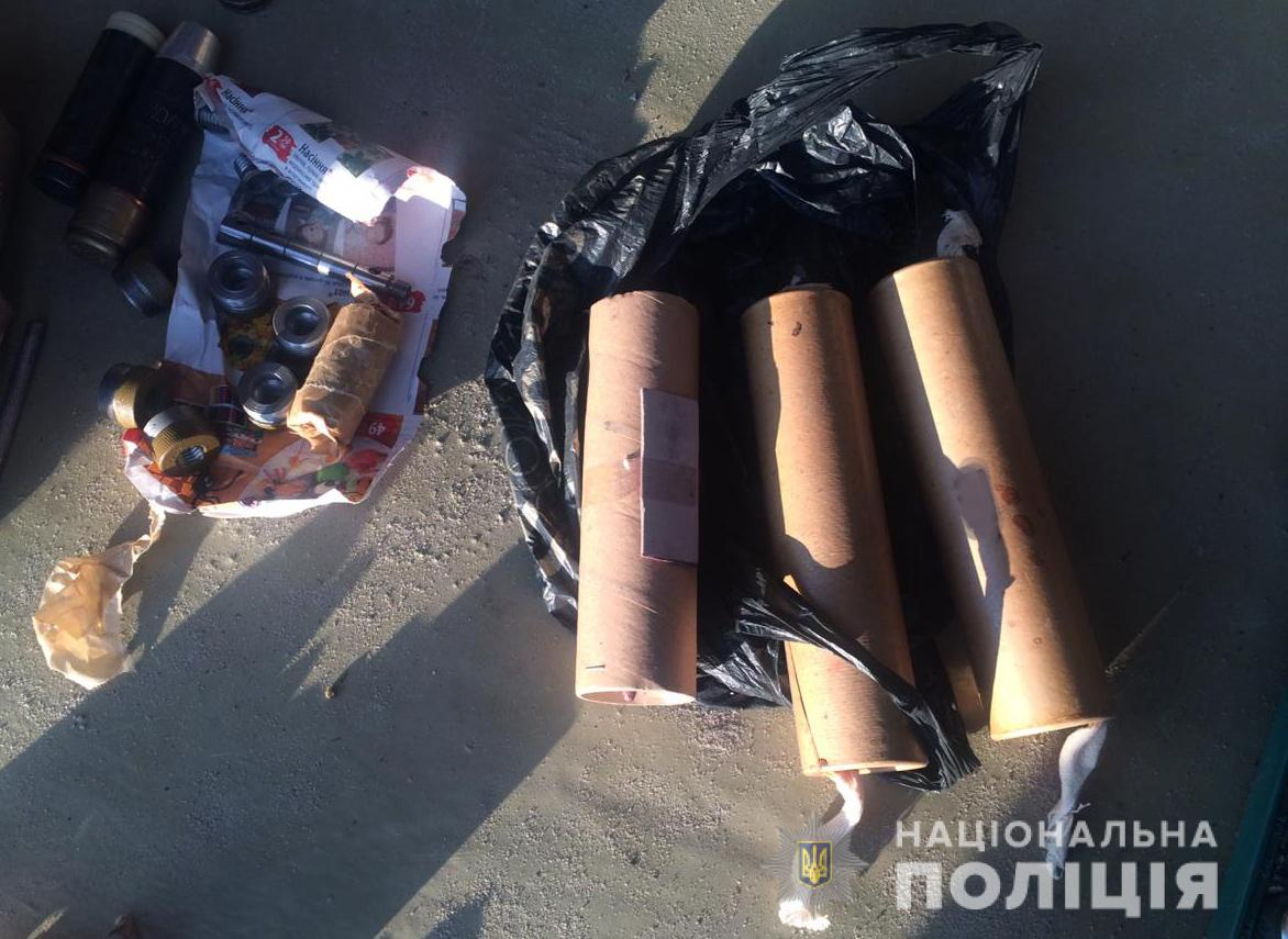 У підозрюваного в нападі на депутата Волинської облради під час обшуку виявили боєприпаси. ФОТО