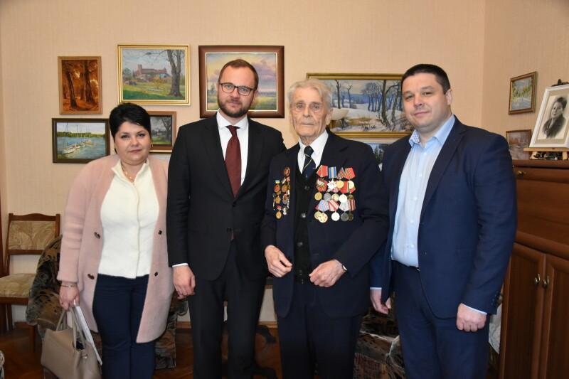 У Луцьку привітали ветеранів із Днем перемоги. ФОТО