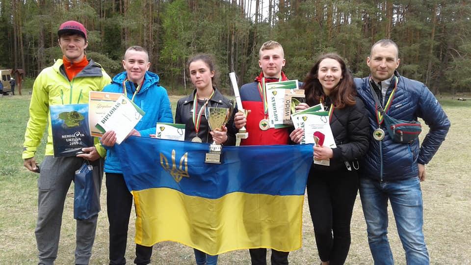 Волинські туристи здобули нагороди на міжнародних змаганнях у Литві. ФОТО