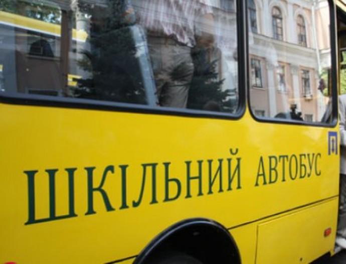 На Волині вантажівка зіткнулася зі шкільним автобусом. ФОТО