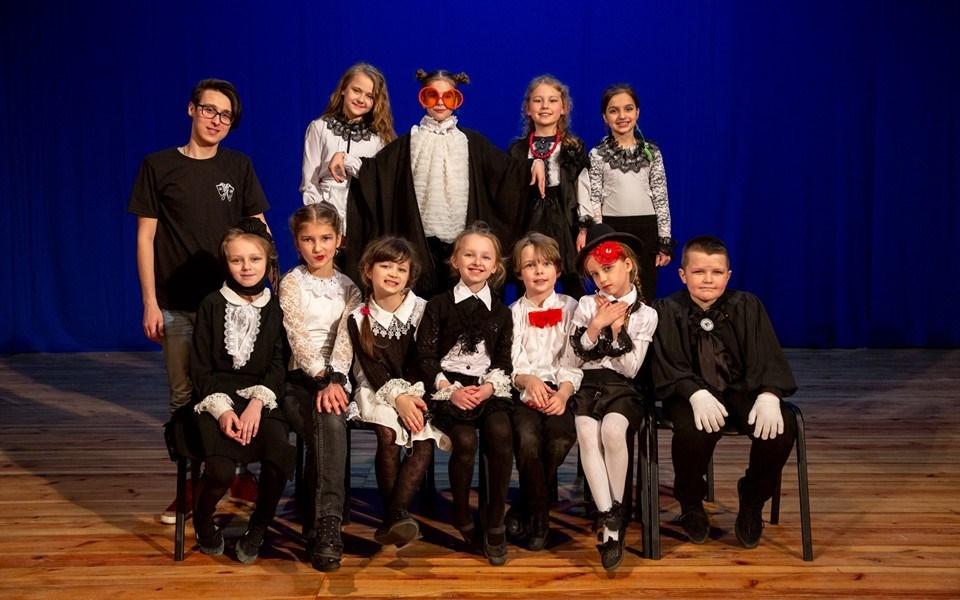 Луцька дитяча театральна студія демонструвала свої таланти. ФОТО