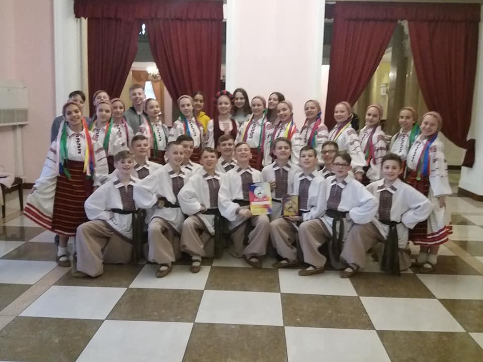 Ансамбль танцю «Волиняночка»  здобув І місце на фестивалі у Києві. ФОТО