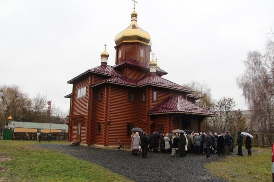 У Луцьку освятять храм