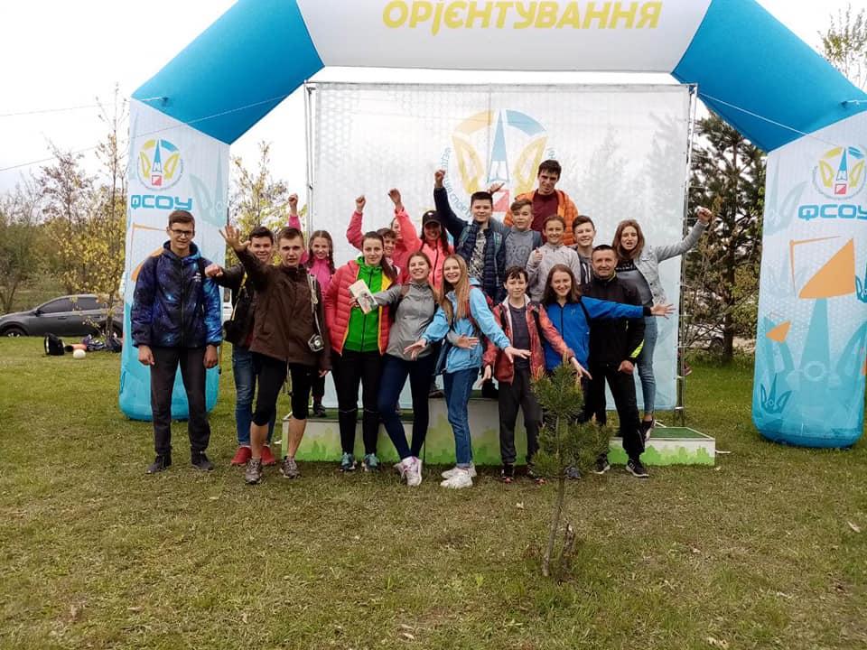 Команда волинських орієнтувальників здобула призові місця у Чернівцях. ФОТО