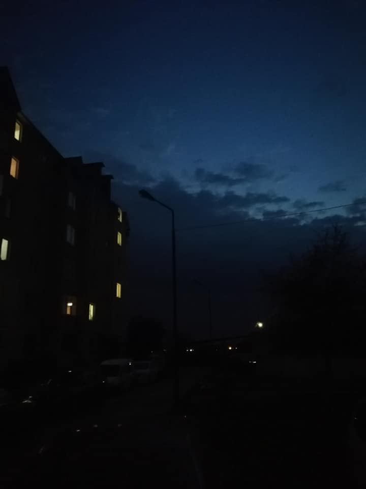 У Луцьк зникло освітлення у дворах в одному із районів