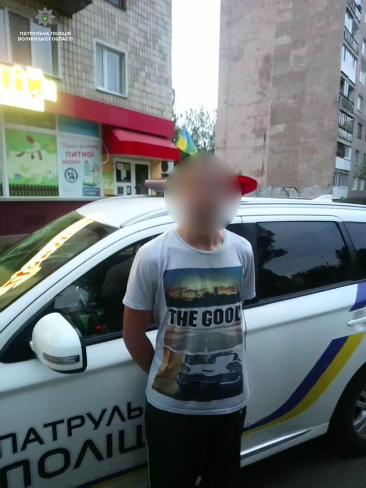 У Луцьку затримали підозрюваного в крадіжці з авто. ФОТО. ВІДЕО