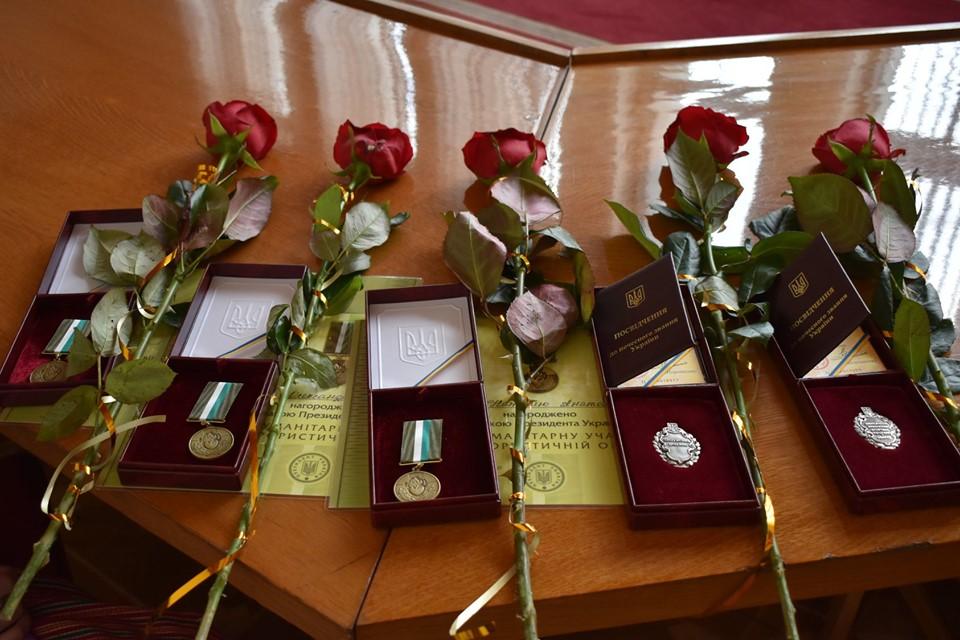 П'ятеро волинян отримали почесні звання та відзнаки. ФОТО