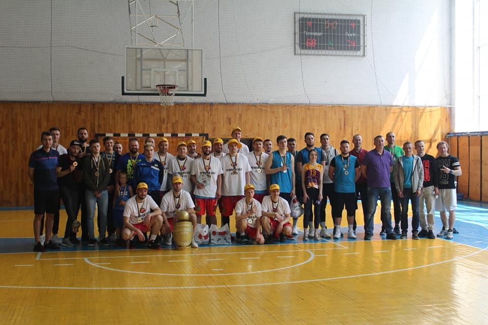 Відбувся фінал чотирьох аматорської баскетбольної ліги Луцька
