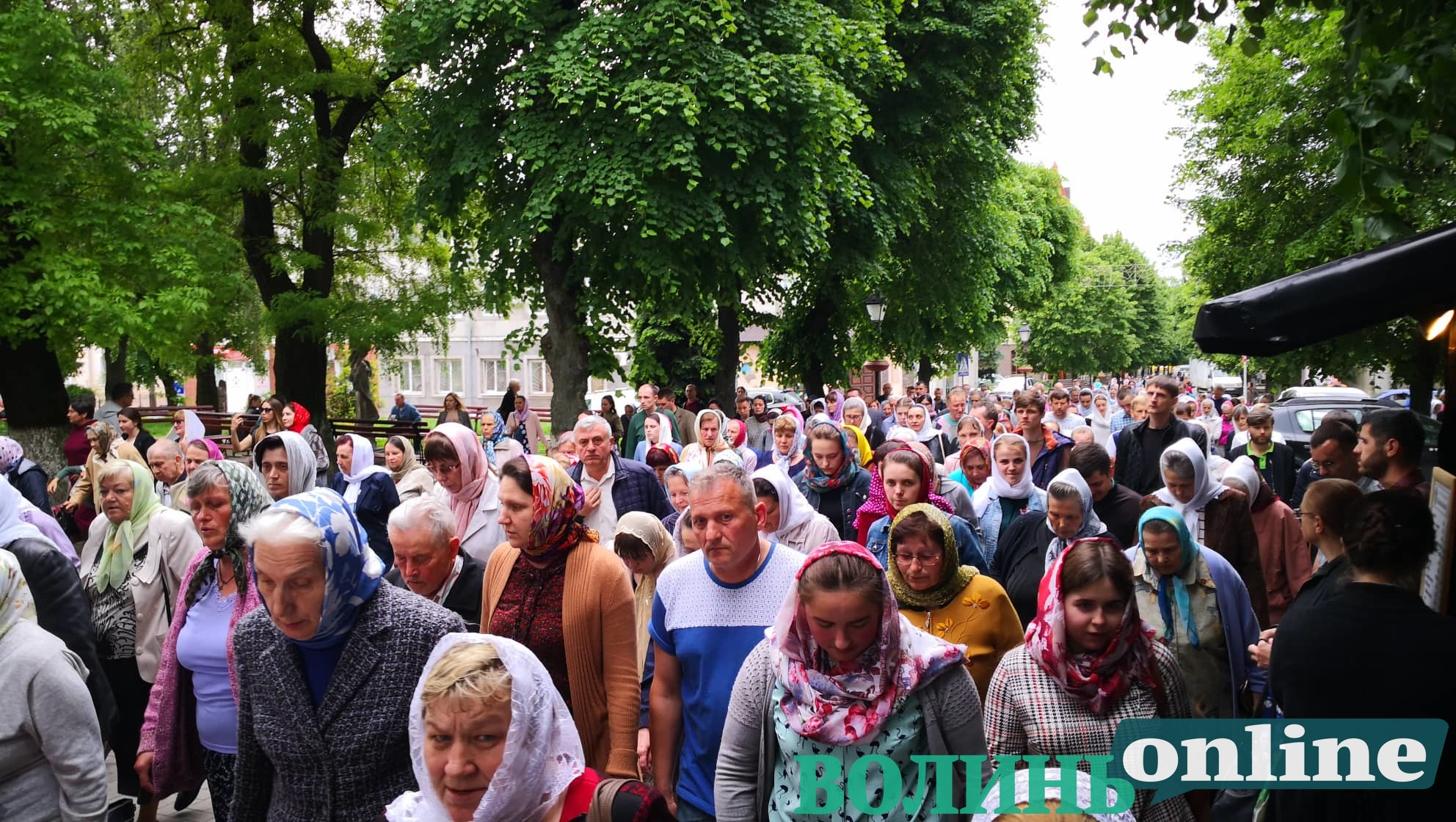 У Луцьку Московський Патріархат організував Хресний хід. ВІДЕО