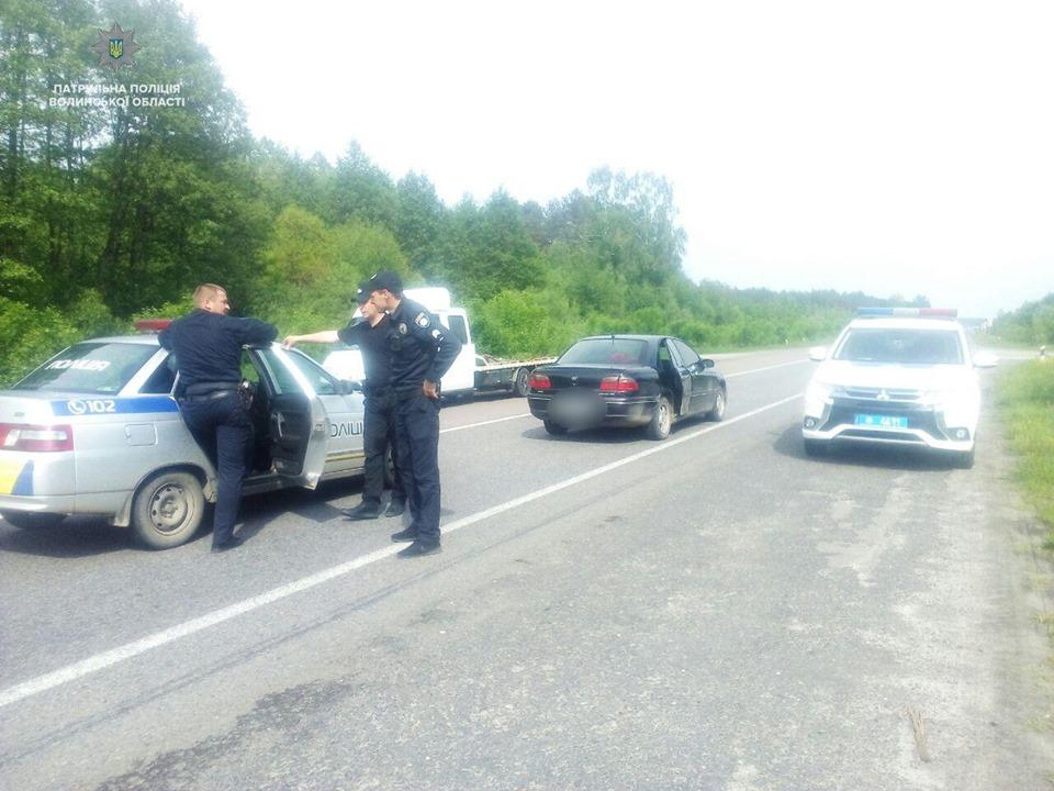 На Волині затримали крадія автомобіля. ФОТО