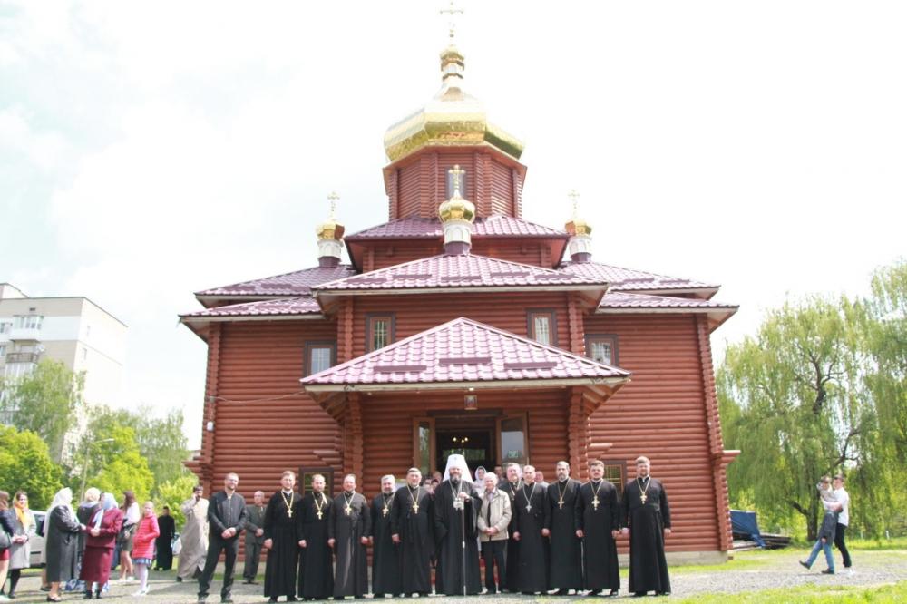 У Луцьку освятили новий храм. ФОТО. ВІДЕО