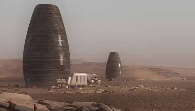 На 3D-принтері надрукували будинок для життя на Марсі. ВІДЕО
