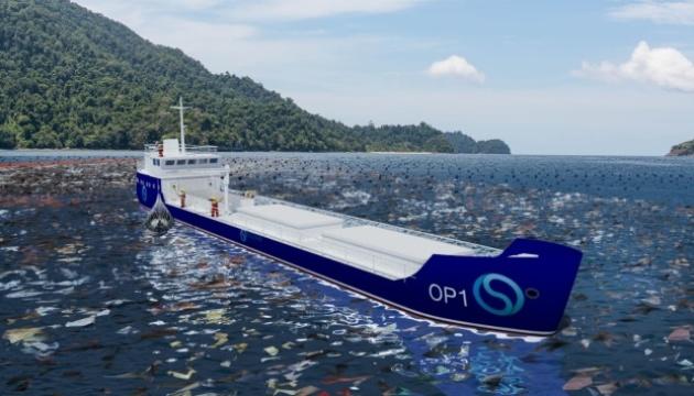 Українці розробили плавучий сміттєпереробний завод для очищення океану