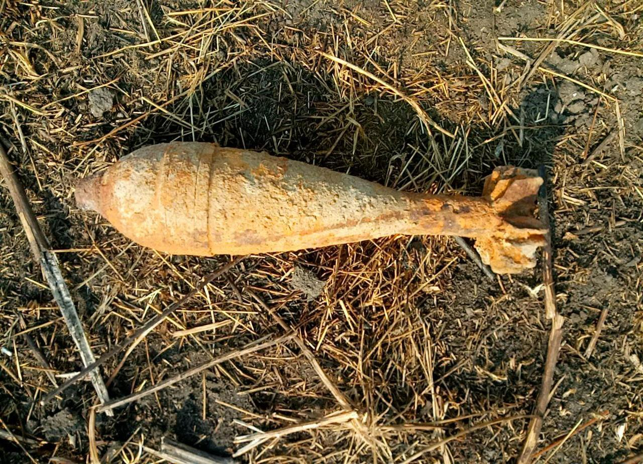 На Волині піротехніки знешкодили застарілі боєприпаси