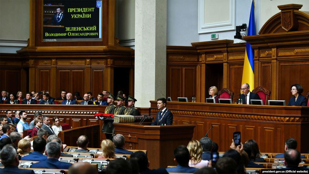 Зеленський пояснив своє рішення розпустити Раду