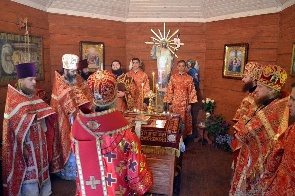 На Волині єпископ Нафанаїл освятив новозбудовану каплицю. ФОТО