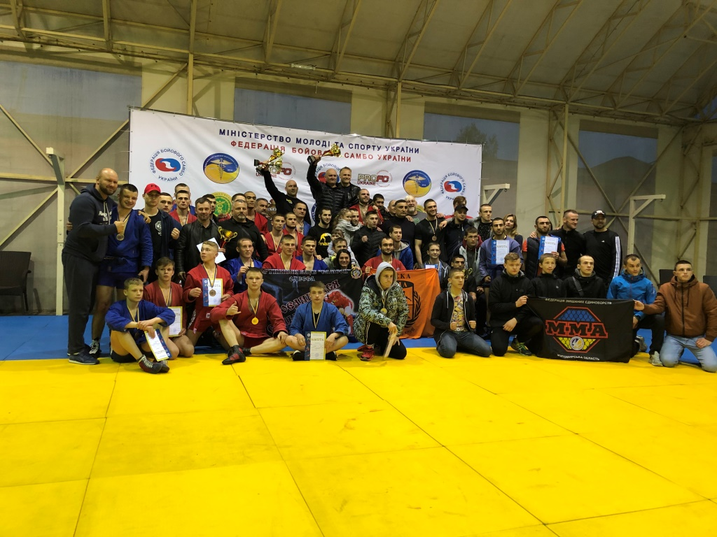 Боєць луцького клубу «Garda» став чемпіоном України з бойового самбо