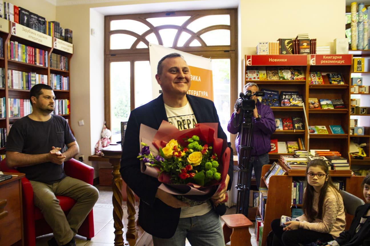 У Луцьку презентували перший юридичний роман. ФОТО
